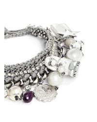 Venessa Arizaga | Metallic 'poodle Around' Bracelet | Lyst