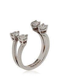 Delfina Delettrez | Metallic Dots Midi Finger Ring | Lyst