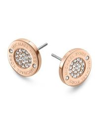 Michael Kors - Metallic Mkj3353791 Womens Earrings - Lyst