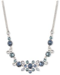 Givenchy | Silver-tone And Blue Stone Necklace | Lyst