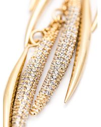 Eddie Borgo | Metallic Pavé Prickle Necklace | Lyst