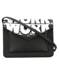 Marc By Marc Jacobs - Black Work Print Crossbody Bag - Lyst