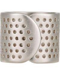Jennifer Fisher - Metallic bandaid Ring for Men - Lyst