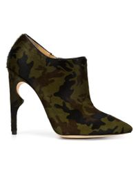 Jerome C. Rousseau - Green Camouflage Print Booties - Lyst