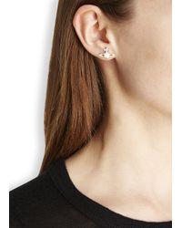 Vivienne Westwood - Metallic Silver Plated Orb Earrings - Lyst