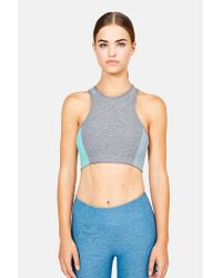 Outdoor Voices | Gray Athena Crop Bra | Lyst