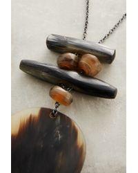 Bluma Project | Brown Lunasa Pendant Necklace | Lyst