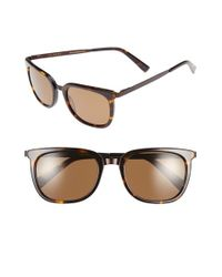 Ted Baker   Black 53mm Retro Polarized Sunglasses for Men   Lyst