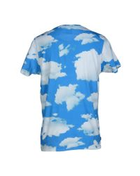 Franklin & Marshall - Blue T-shirt for Men - Lyst