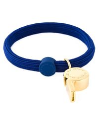 Marc By Marc Jacobs | Blue Whistle Charm Bracelet | Lyst