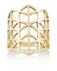 Lito - Metallic Izel 14-Karat Gold Ring - Lyst