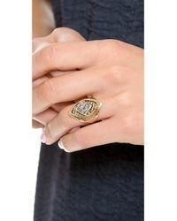 Lady Grey - Metallic Lucid Ring - Lyst