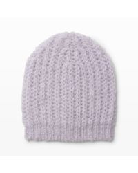 Club Monaco | Purple Daylina Knit Hat | Lyst