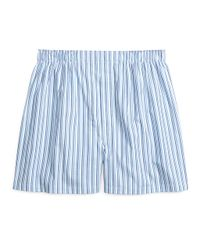 Brooks Brothers - Blue Traditional Fit Tonal Stripe Boxers for Men - Lyst