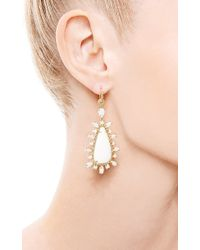 Nina Runsdorf | One Of A Kind Turkish and White Opal Earrings | Lyst