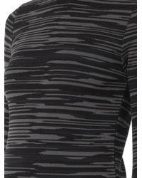 Stella McCartney - Blue Melange-Knit Roll-Neck Sweater - Lyst