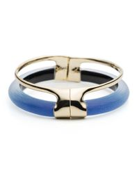 Alexis Bittar - Blue Double Band Liquid Hinge Bracelet You Might Also Like - Lyst