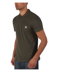 Bench - Natural Crystalline Plain Regular Fit Polo Shirt for Men - Lyst