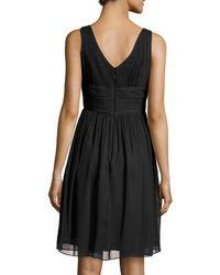 Donna Morgan - Black Jessie Sleeveless Cocktail Dress - Lyst