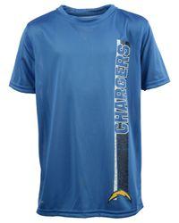 Adidas - Blue Boys' San Diego Chargers Shatter Text Dri-tek T-shirt for Men - Lyst