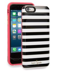Kate Spade | Black Iphone 6 & 6s Charging Case | Lyst