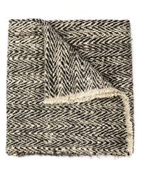 Denis Colomb - Black 'ise' Scarf - Lyst