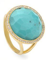Ippolita | Metallic Turquoise Lollipop Ring | Lyst