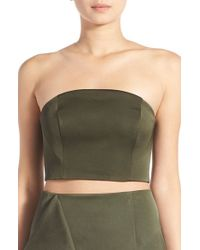 Keepsake - Natural 'this Moment' Crop Bustier - Lyst
