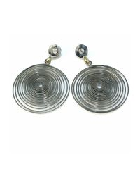 Sibilla G Jewelry - Metallic Spiral Galaxy Silver Earrings - Lyst