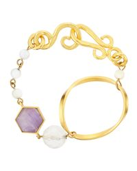 Stephanie Kantis - Multicolor Faceted Multi-stone Large Bracelet - Lyst