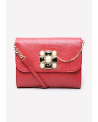 Bebe - Red Marjie Crossbody Bag - Lyst