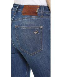 DL1961 - Blue Nina High Rise Skinny Jeans - Zeppelin - Lyst