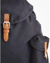 The Idle Man - Vintage Rucksack Black for Men - Lyst