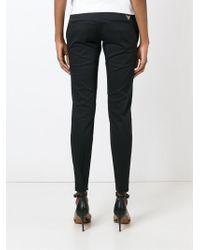 DSquared² - Black Slim Trousers - Lyst