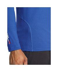 Ralph Lauren - Blue Stretch Mockneck Shirt for Men - Lyst