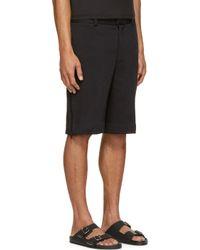 Givenchy - Black Felpa Bermuda Shorts for Men - Lyst