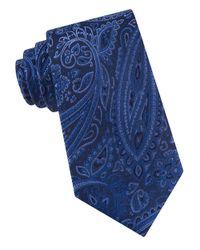 MICHAEL Michael Kors | Blue Paisley Tie for Men | Lyst