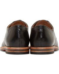 H by Hudson - Black Leather Hadstone Derbys for Men - Lyst
