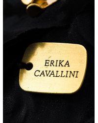 Erika Cavallini Semi Couture - Pink Flower Brooch - Lyst