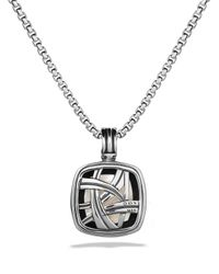 David Yurman | Metallic Albion Pendant With Moon Quartz & Diamonds | Lyst