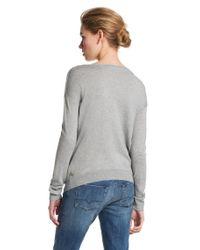 BOSS Orange | Gray Viscose Blend Sweater Wessicana | Lyst