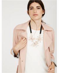 BaubleBar - Pink Plumeria Collar - Lyst