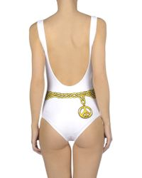 Moschino Couture | White Costume | Lyst