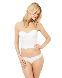 Betsey Johnson | White Forever Perfect Bustier | Lyst