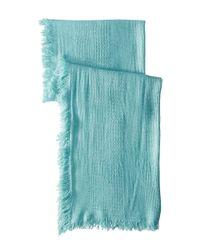 Michael Stars | Blue Plush And Cozy Wrap | Lyst