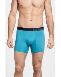 Calvin Klein | Blue Bold Micro Boxer Brief for Men | Lyst