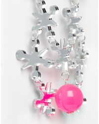 Tatty Devine | Pink Jacks Necklace | Lyst