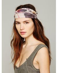 Free People | Brown Printed Widebands | Lyst
