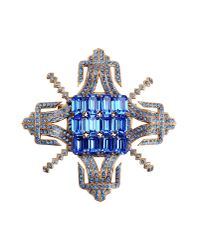 First People First - Blue Brooch - Lyst