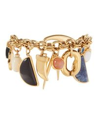Lizzie Fortunato - Metallic Voodoo Charm Bracelet - Lyst